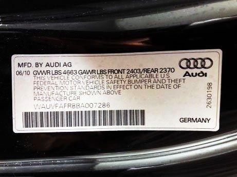 Audi 2011 for sale near me