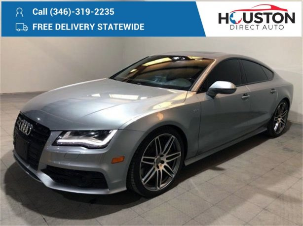 Used 2014 Audi S7 for sale in Houston TX.  We Finance!