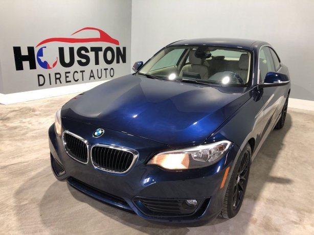 Used 2014 BMW 2 Series for sale in Houston TX.  We Finance!