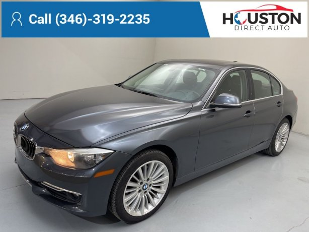 Used 2013 BMW 3 Series for sale in Houston TX.  We Finance!