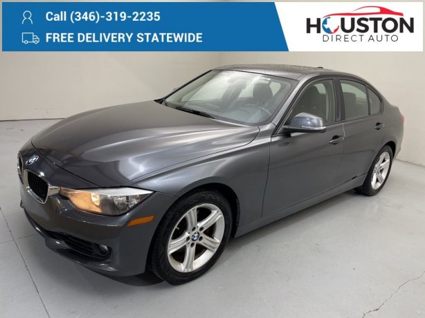 Used 2014 BMW 3 Series for sale in Houston TX.  We Finance!