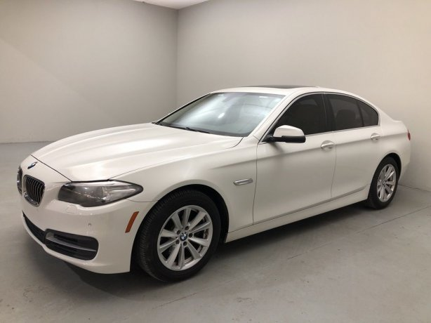 Used 2014 BMW 5 Series for sale in Houston TX.  We Finance!
