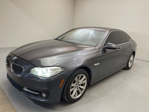 Used 2016 BMW 5 Series for sale in Houston TX.  We Finance!