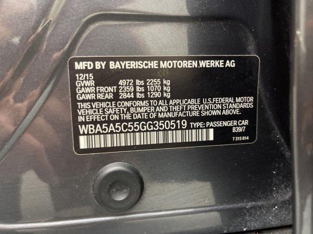 BMW 5 Series 2016 near me