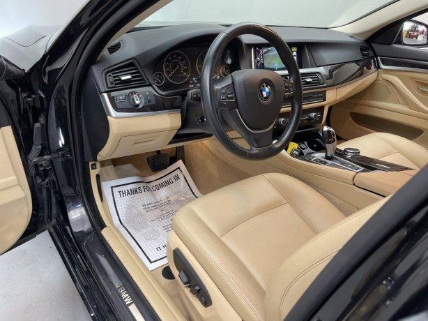 2015 BMW 5 Series for sale Houston TX