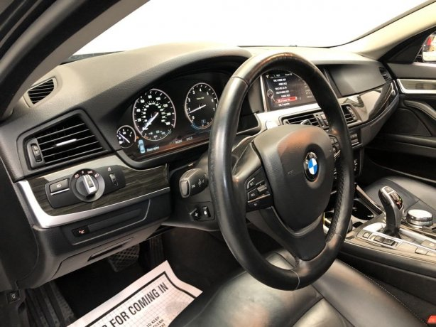 2016 BMW 5 Series for sale Houston TX