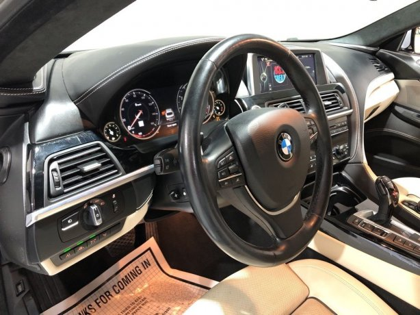2015 BMW 6 Series for sale Houston TX
