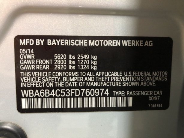 BMW 6 Series near me