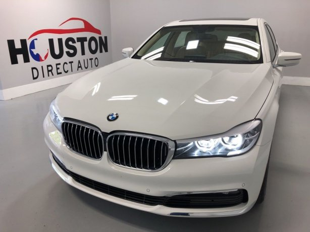 Used 2018 BMW 7 Series for sale in Houston TX.  We Finance!