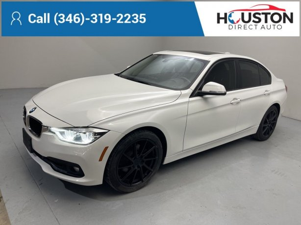 Used 2018 BMW 3 Series for sale in Houston TX.  We Finance!