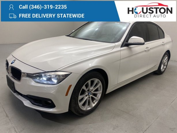 Used 2017 BMW 3 Series for sale in Houston TX.  We Finance!