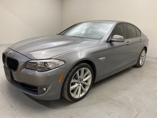 Used 2012 BMW 5 Series for sale in Houston TX.  We Finance!