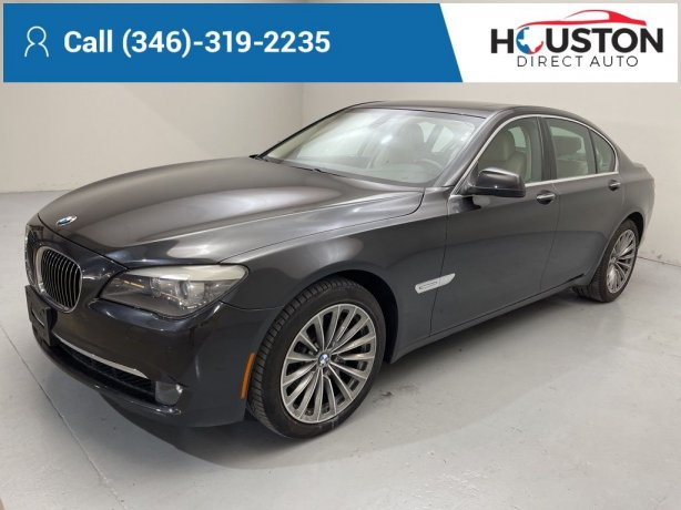 Used 2011 BMW 7 Series for sale in Houston TX.  We Finance!