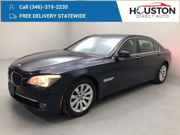 Used 2010 BMW 7 Series for sale in Houston TX.  We Finance!