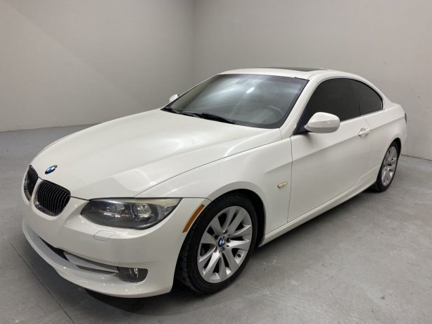 Used 2012 BMW 3 Series for sale in Houston TX.  We Finance!