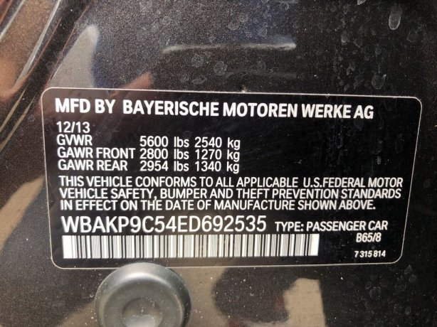 BMW 5 Series 2014 near me