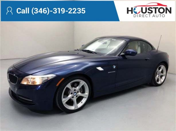 Used 2013 BMW Z4 for sale in Houston TX.  We Finance!