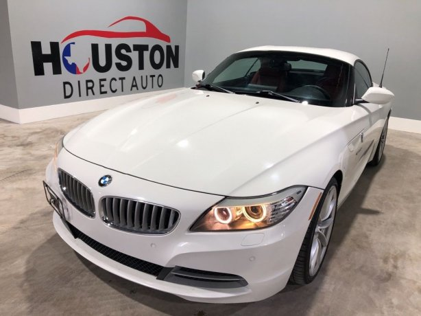 Used 2012 BMW Z4 for sale in Houston TX.  We Finance!