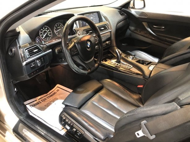 used 2012 BMW 6 Series for sale Houston TX