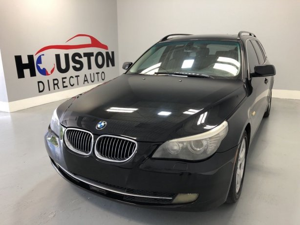 Used 2008 BMW 5 Series for sale in Houston TX.  We Finance!