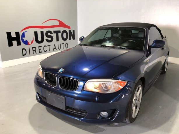Used 2013 BMW 1 Series for sale in Houston TX.  We Finance!