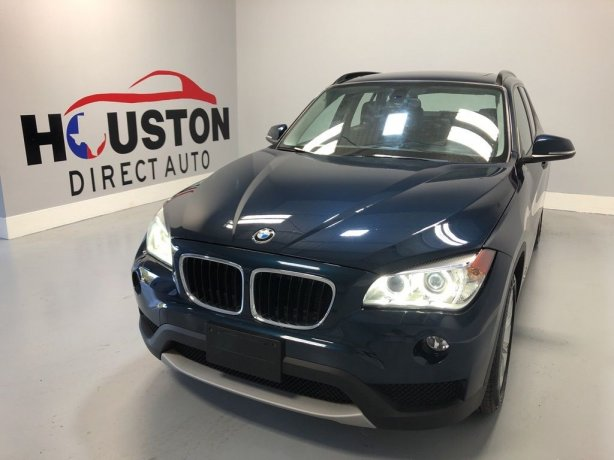 Used 2014 BMW X1 for sale in Houston TX.  We Finance!