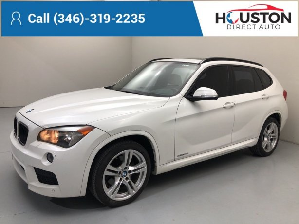 Used 2015 BMW X1 for sale in Houston TX.  We Finance!