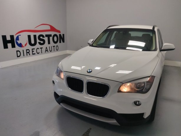 Used 2013 BMW X1 for sale in Houston TX.  We Finance!