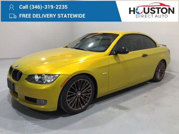 Used 2008 BMW 3 Series for sale in Houston TX.  We Finance!