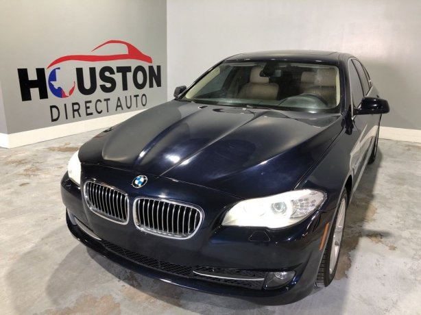 Used 2013 BMW 5 Series for sale in Houston TX.  We Finance!