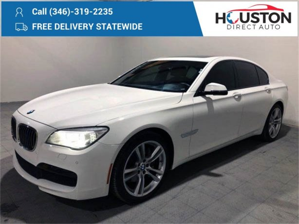 Used 2014 BMW 7 Series for sale in Houston TX.  We Finance!