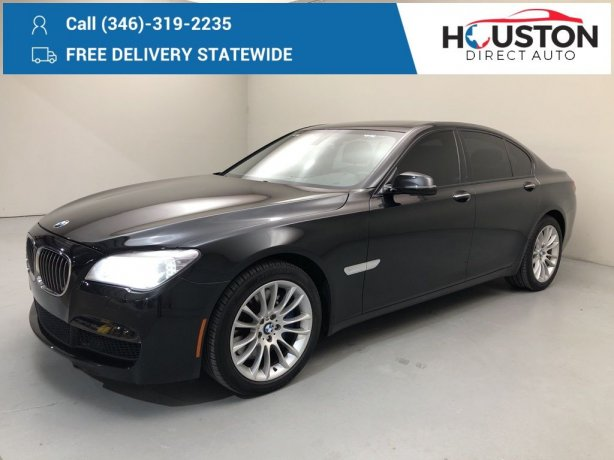 Used 2013 BMW 7 Series for sale in Houston TX.  We Finance!