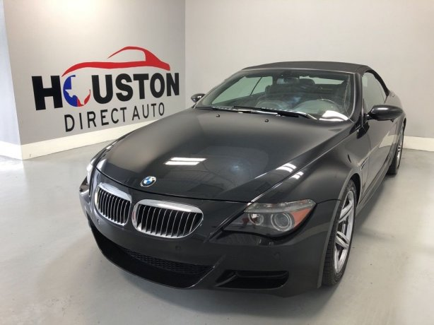 Used 2007 BMW M6 for sale in Houston TX.  We Finance!