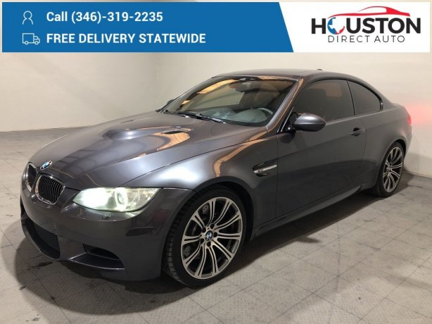 Used 2008 BMW M3 for sale in Houston TX.  We Finance!