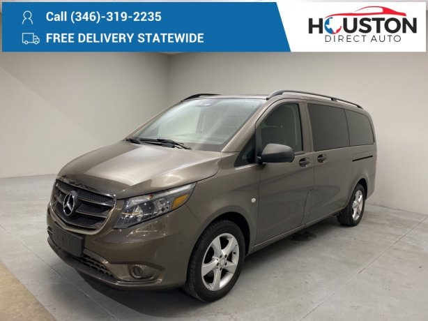 Used 2016 Mercedes-Benz Metris for sale in Houston TX.  We Finance!