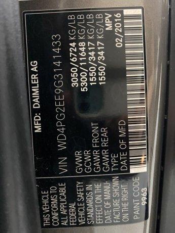 Mercedes-Benz Metris 2016 near me