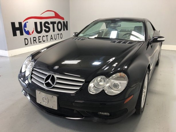 Used 2006 Mercedes-Benz SL-Class for sale in Houston TX.  We Finance!