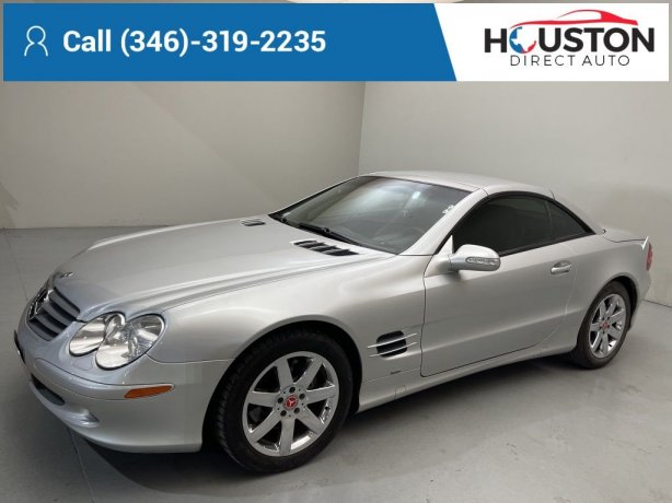 Used 2003 Mercedes-Benz SL-Class for sale in Houston TX.  We Finance!
