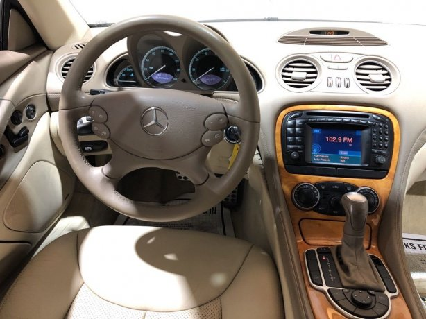 used 2004 Mercedes-Benz SL-Class for sale Houston TX