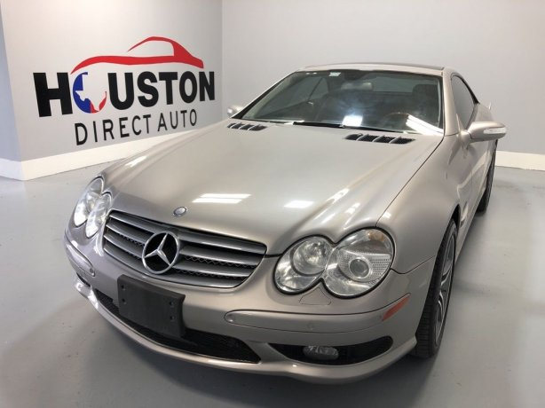 Used 2005 Mercedes-Benz SL-Class for sale in Houston TX.  We Finance!