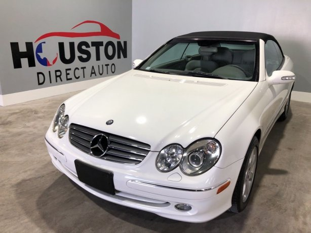 Used 2004 Mercedes-Benz CLK for sale in Houston TX.  We Finance!
