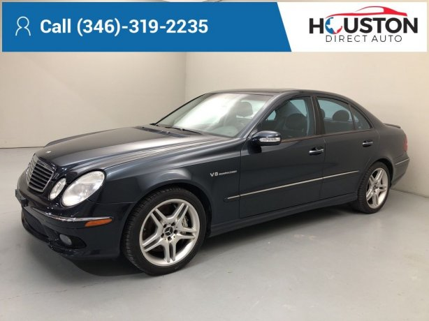 Used 2005 Mercedes-Benz E-Class for sale in Houston TX.  We Finance!