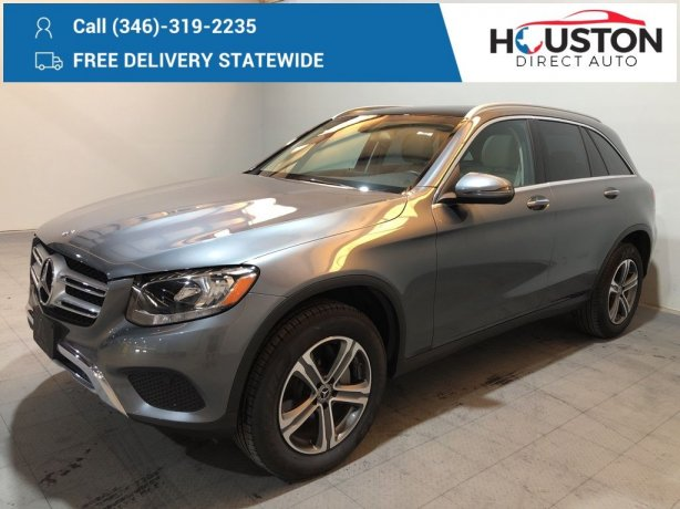 Used 2018 Mercedes-Benz GLC for sale in Houston TX.  We Finance!