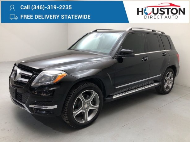 Used 2013 Mercedes-Benz GLK for sale in Houston TX.  We Finance!