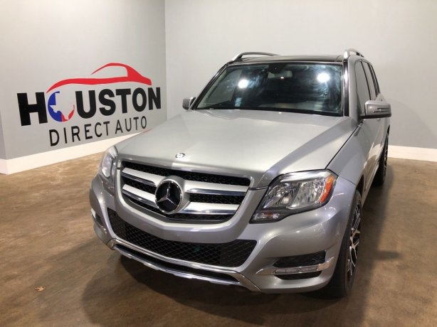 Used 2014 Mercedes-Benz GLK for sale in Houston TX.  We Finance!