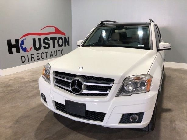 Used 2010 Mercedes-Benz GLK for sale in Houston TX.  We Finance!