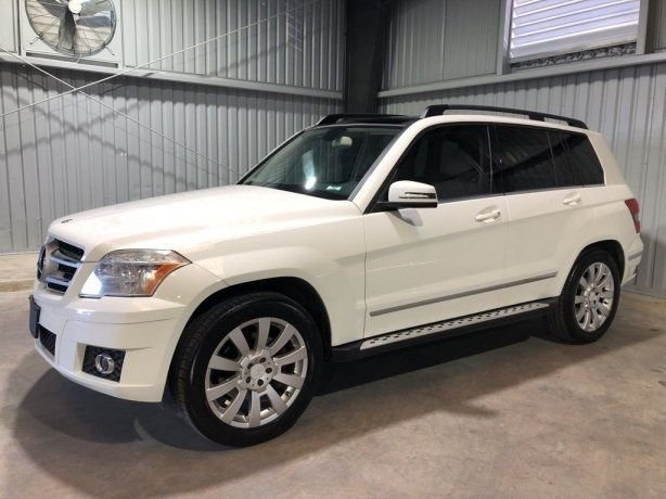 Used Mercedes-Benz GLK for sale in Houston TX.  We Finance!