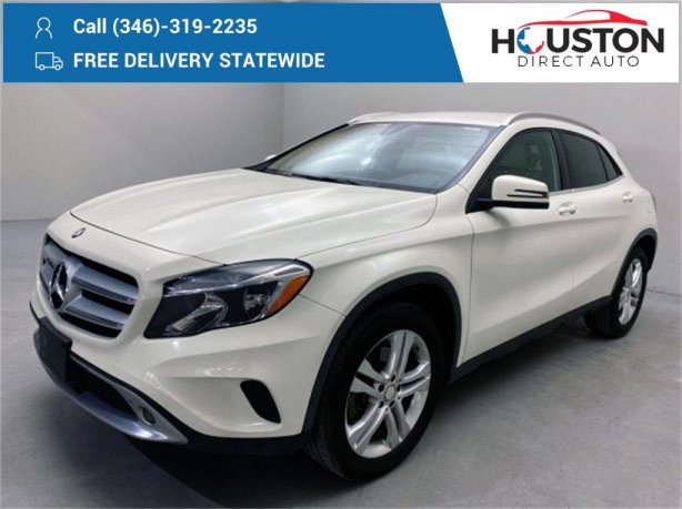 Used 2017 Mercedes-Benz GLA for sale in Houston TX.  We Finance!