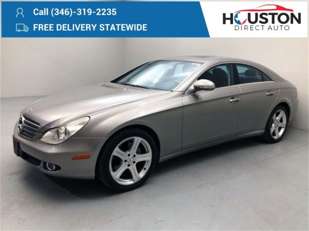 Used 2006 Mercedes-Benz CLS for sale in Houston TX.  We Finance!