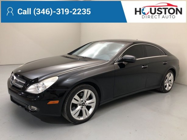 Used 2010 Mercedes-Benz CLS for sale in Houston TX.  We Finance!